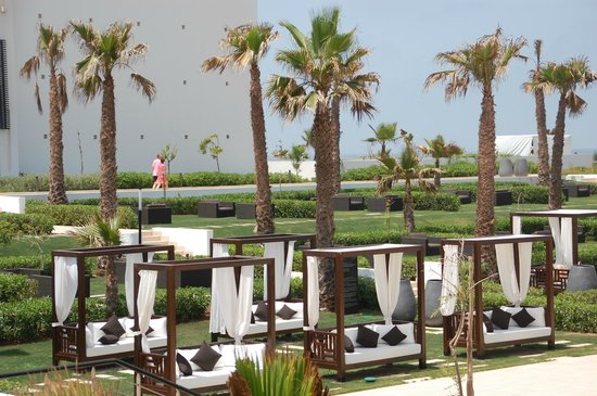 Sofitel Agadir Thalassa Sea & Spa: Pool & Beach Area
