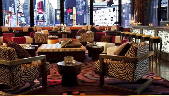R Lounge At Two Times Square New York City Midtown