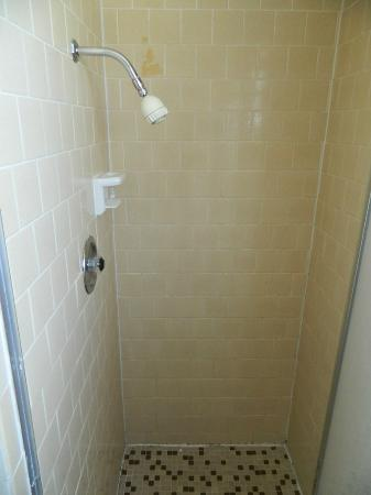 Travelodge Santa Rosa Downtown: Shower for