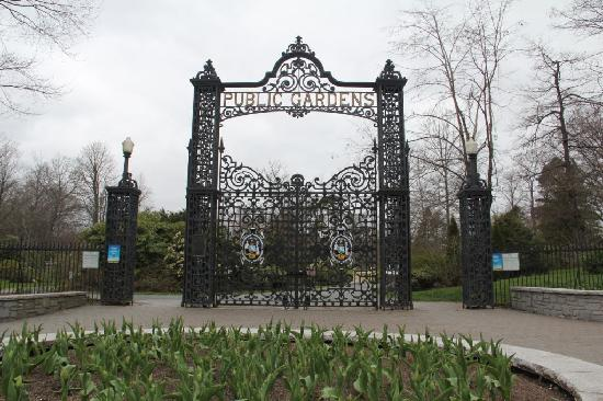 Main Entry Gates Picture Of Halifax Public Gardens Halifax Tripadvisor