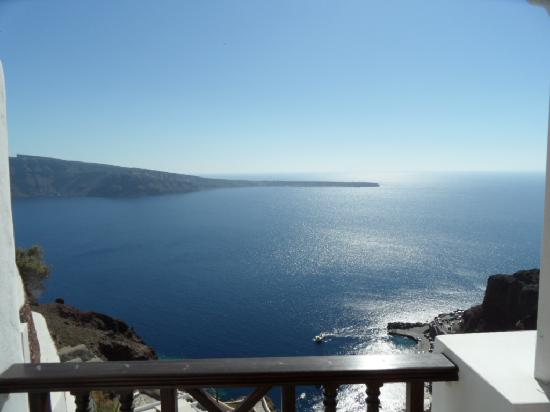Balcony view picture of art maisons luxury santorini for Balcony 412 sul