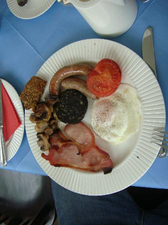 Willowbank House: Full Irish breakfast