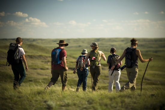 Saskatchewan, Canada : Hiking in Grasslands National Park