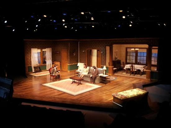 Lost In Yonkers Set Design By Kenneth Martin Picture
