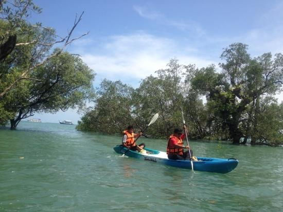     : Our kayak activity at Chandara Resort &amp; Spa, very fantastic