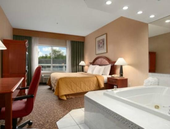 Days Inn and Suites Albany: our room