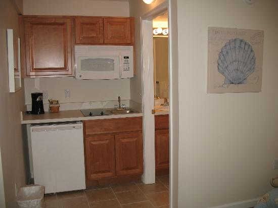 Seaport Inn Motel: Kitchenette
