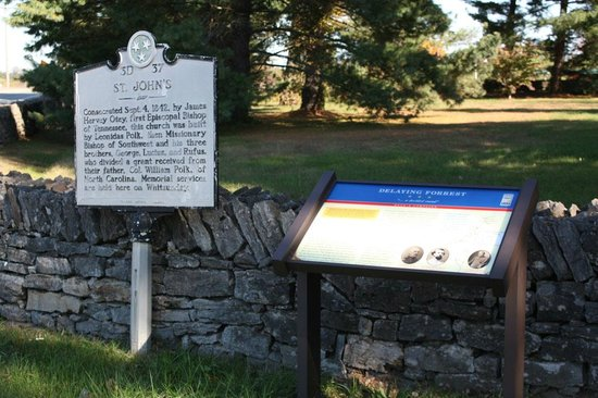 Civil War Trail for Hood's Campaign of 1864