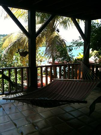 Villa Pelicano: View from the Hammocks