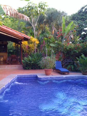 Nature Lodge Finca los Caballos: Beautiful grounds and gardens