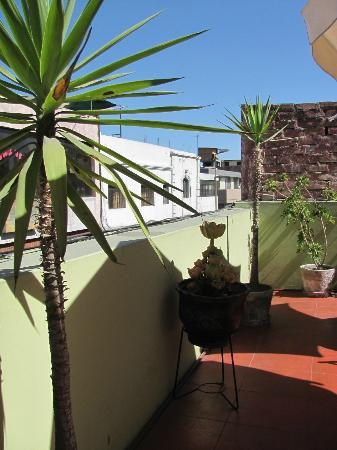 Andes House Inn: Roof terrace