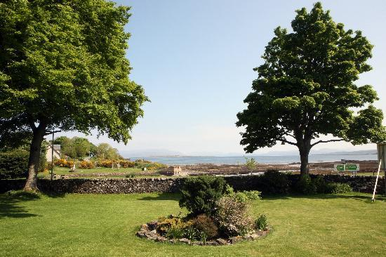 Broadford, UK: View from the Hotel