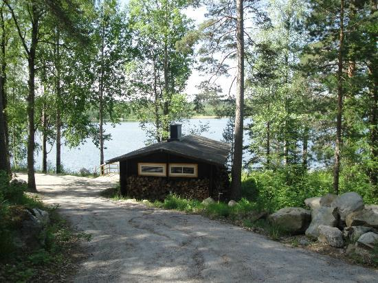 Parikkala, Finlandia: the lake sauna