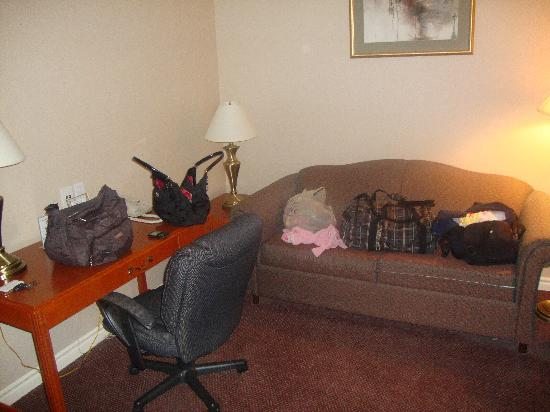 Executive Inn and Suites: Sitting Room