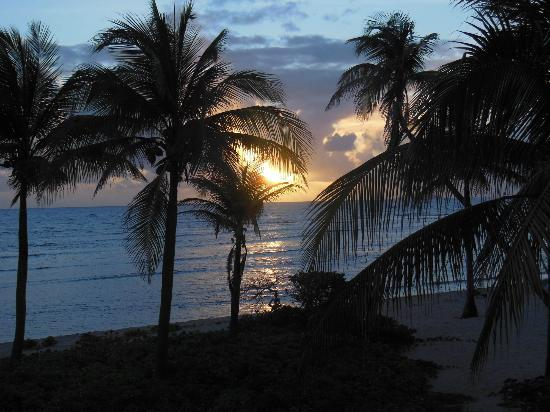 The Palms at Pelican Cove: Sunrise from the balcony