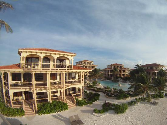 Coco Beach Resort: Birds Eye View