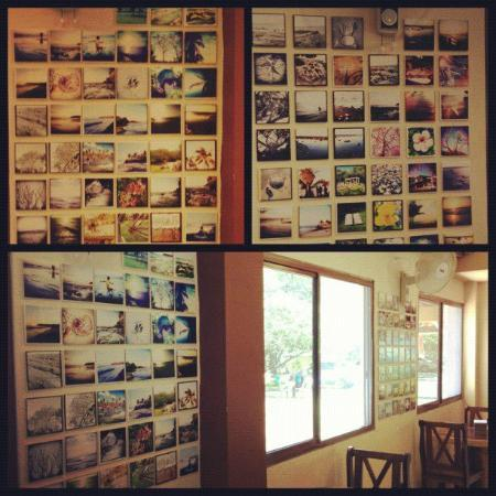 San Carlos, Panama: photos on the walls of manglar lodge