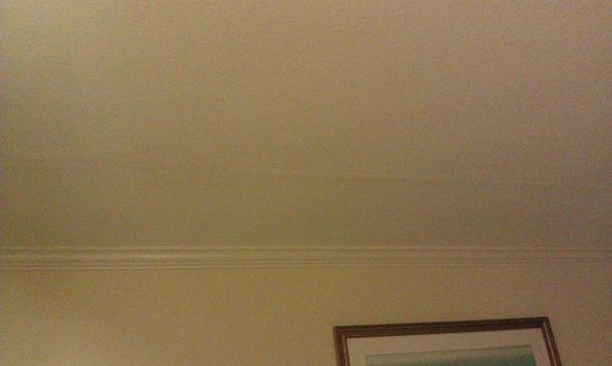 Comfort Inn At The Harbor:                                     Seams across the ceiling...