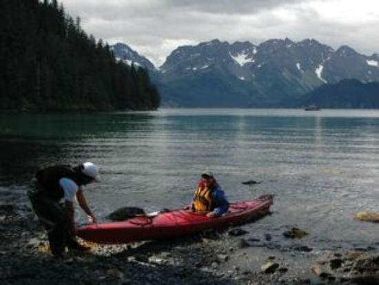 Otter Cove Resort: Guided kayaking