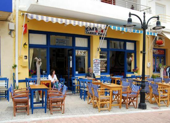 Paleochora, Hellas: Cafe Yannis Place