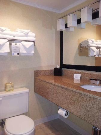 Quality Inn: bathroom