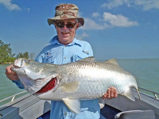 Tiwi Islands, Australia: Nice BIG Barra
