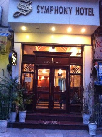 Hanoi Symphony Hotel: Hotel exterior