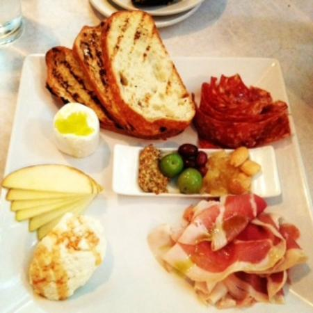 Cheese meat platter homemade ricotta wow picture of for 707 foodbar grand junction