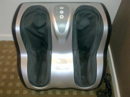 Fleming Hotel: Electric Foot Massage - cool