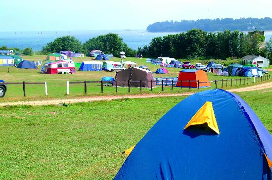 Nodes Point Holiday Park - Park Resorts Photo: camp out in the summer