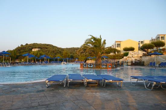 Agios Spyridonas, Greece: Main pool