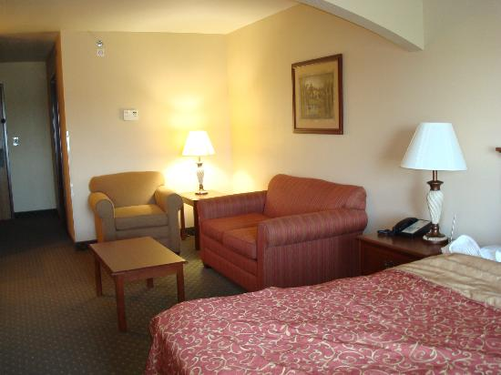 BEST WESTERN PLUS Capital Inn: &quot;Living room area&quot;