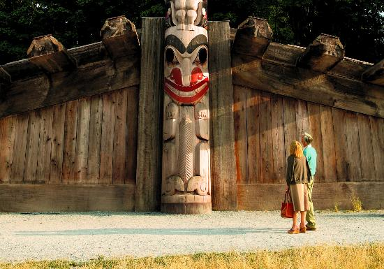 Museum of Anthropology, Vancouver, British Columbia, Canada