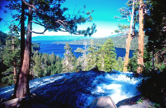 Lake Tahoe (California), CA: Eagle Falls at Emerald Bay