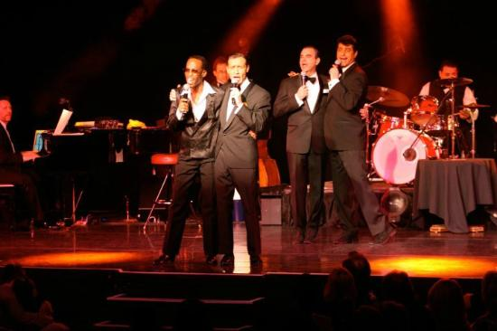 Photos of Sandy Hackett's Rat Pack Show, Las Vegas