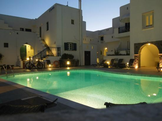 Agios Prokopios, Greece: Liana Hotel pool