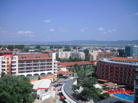 Foto de iskar hotel sunny beach view from room on the for 13th floor hotels