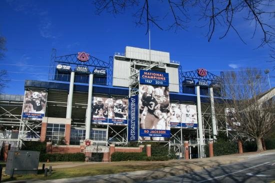 Hampton Inn Auburn: Auburn Football Stadium