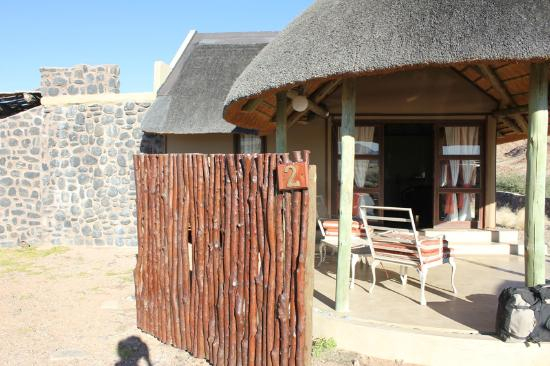 Hoodia Desert Lodge: Room Outside