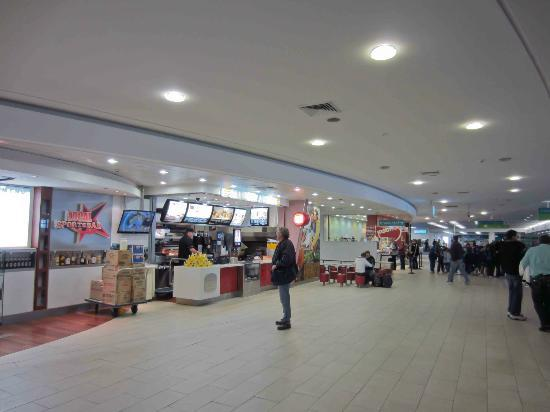 Greater Newcastle, Australia: At Hungry Jacks in Newcastle Airport