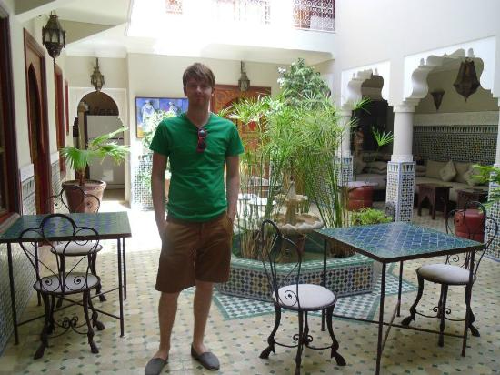 Riad Teranga: In the courtyard