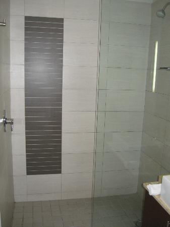 DoubleTree by Hilton Cape Town - Upper Eastside: Big shower