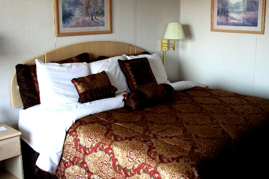 Branson Yellow Rose Inn and Suites: Bed