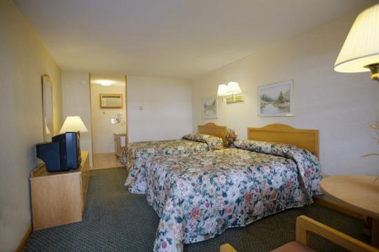 Americas Best Value Inn Lake George: Standard Double