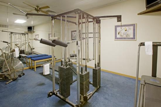 Americas Best Value Inn &amp; Suites-Tyler/Downtown: Fitness Centre