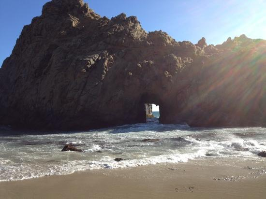 Keyhole Rock Picture Of Pfeiffer Beach Big Sur