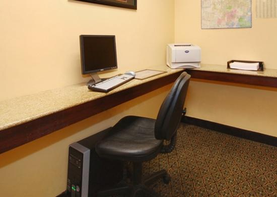 Comfort Suites Elgin: Business center