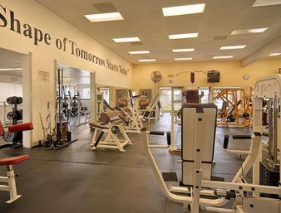 Palms Inn: Fitness Center
