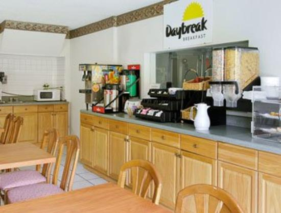 Days Inn Wildwood: Breakfast Area
