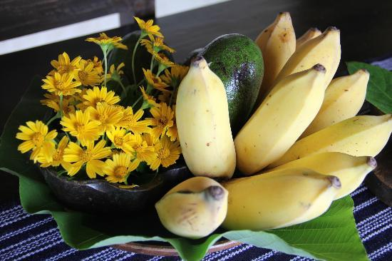 Boracay Private Mt. Casitas: Fresh fruit from the gardens